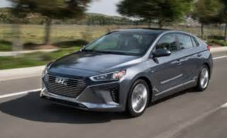 hyundai prices ioniq hybrid and electric to undercut rivals news car and driver car and