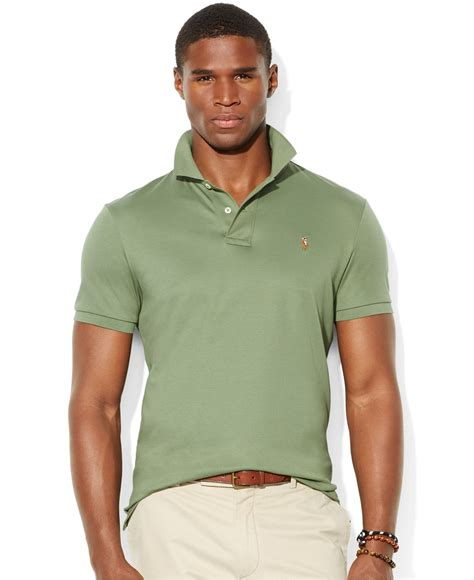 Celana Softjeans Polos lyst polo ralph pima soft touch polo in green for