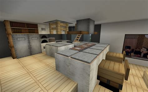 Minecraft Kitchen Blueprints Serenity 16x16 House Minecraft Project
