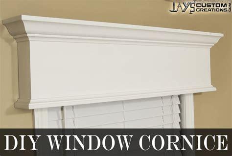 What Is A Window Cornice Easy Diy Window Cornice Jays Custom Creations