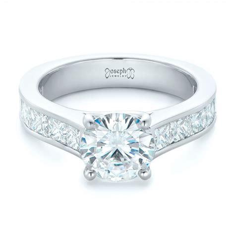 custom princess cut diamonds engagement ring 102367