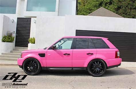 range rover pink and black pink range rover memes