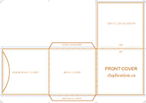 Cd Card Wallet Template by Cd Mailers And Wallets Template