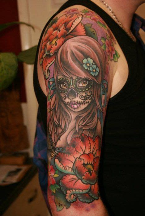 dia de los muertos tattoos for men dia de los muertos tattoos for best design