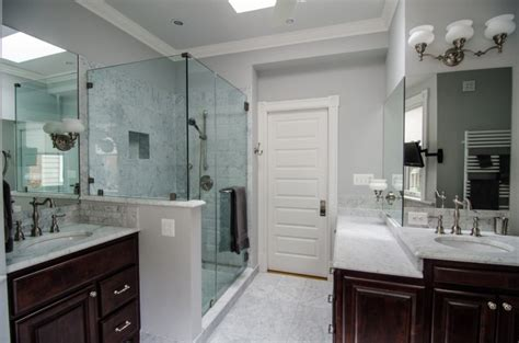 Carrara Marble Bathroom Ideas Carrara Marble Bathroom Design And Lights The Homy Design