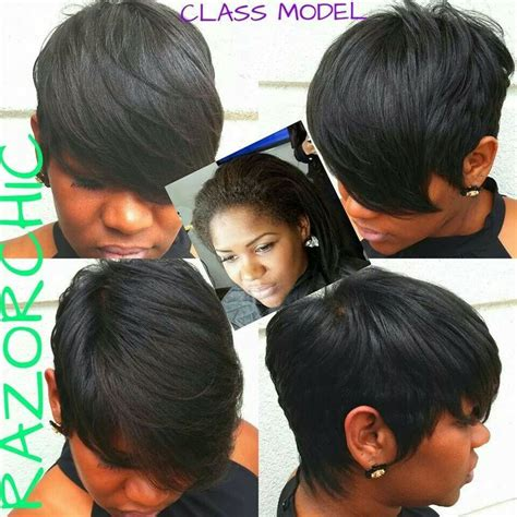 hair cuts by razor chic atlanta razor chic of atlanta hairstyle pinterest razor chic