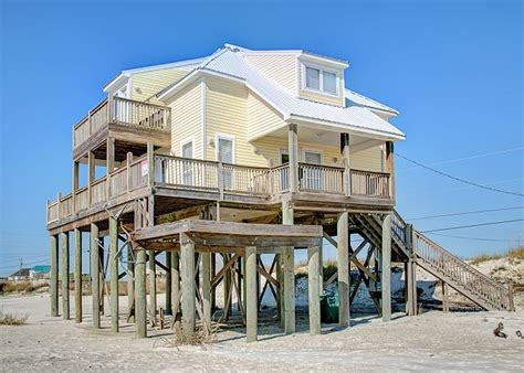 Island Escape Great Views 100197 Find Rentals Dauphin Island Alabama House Rentals
