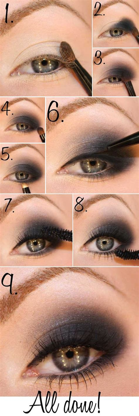 tutorial makeup smokey eyes 20 breathtaking smokey eye tutorials to look simply