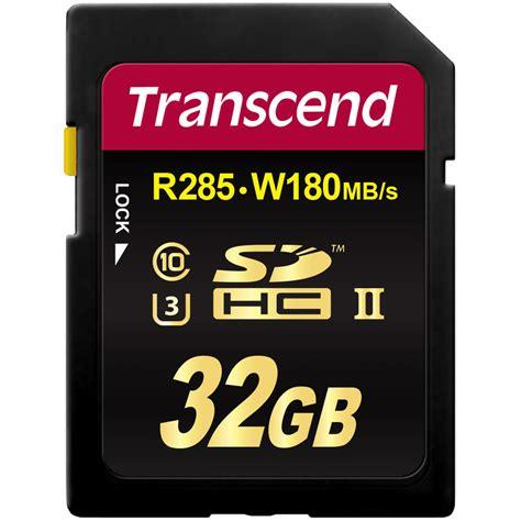 Sd Card Sdhc 32 Gb Uhs Ii U3 280 Mb S Hyper Evo V Dd224 transcend 32gb ultimate uhs ii sdhc memory card u3 ts32gsd2u3
