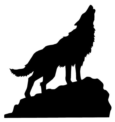 wolf silhouette tattoo best 25 wolf silhouette ideas on wolf artwork