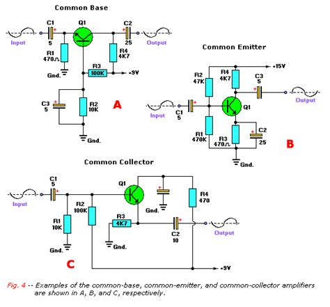 transistor lifier configurations goudappel org