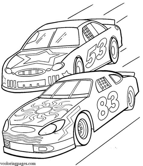 preschool coloring pages of cars race car free kindergarten coloring pages gianfreda net