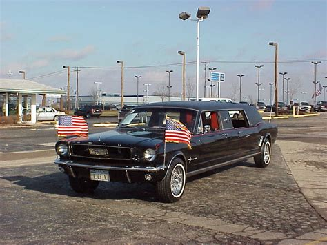 mustang limo waste of the day 1966 ford mustang limos