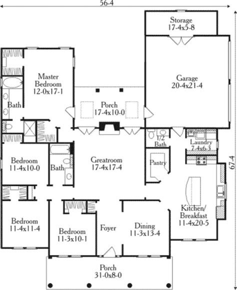 southern style floor plans house plans southern style and plan plan on