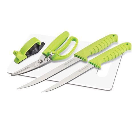 fishing knife set kilimanjaro 5 fishing knife set with cutting board