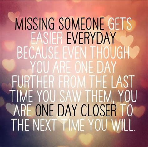 Missing Someone Gets Easier Every Day Pictures, Photos