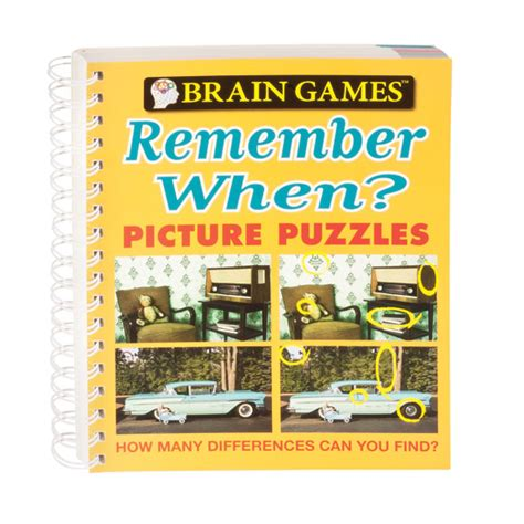 brain sherlock puzzles books brain remember when picture puzzle book easy comforts