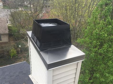 Chimney Opening Cover - chimney caps cover installation richmond