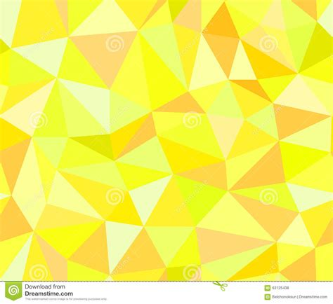 yellow geometric background design vector from free vector geometric vector seamless background of yellow triangles
