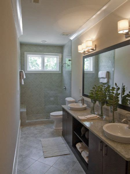 small narrow bathroom design ideas modern narrow bathroom interior small window kitchen bath home deco ideas bathrooms