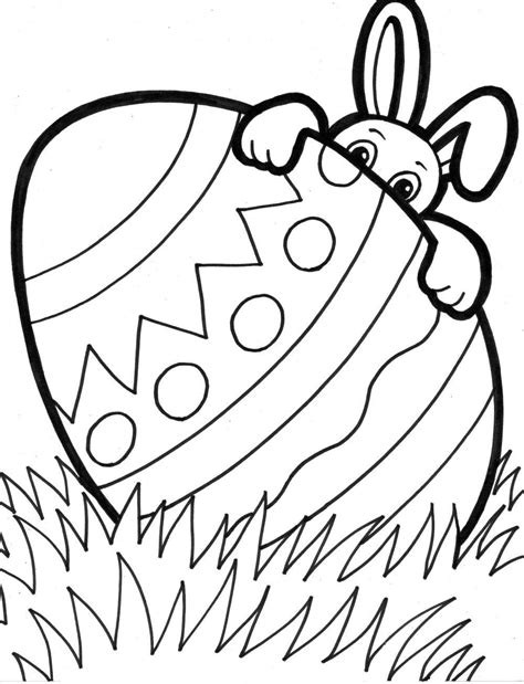 Free Easter Printable Coloring Pages For Easter