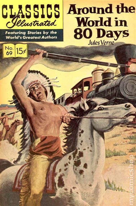 classics illustrated 069 around the world in 80 days 1950 comic books