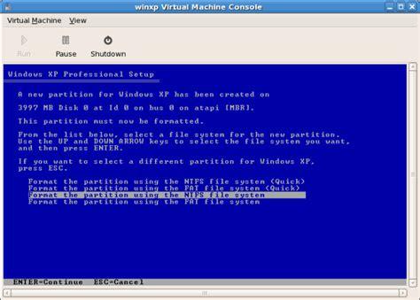 format hard disk linux centos after format 2017v2 windows xp sp3 contcorri