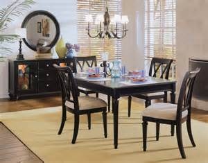 american drew dining room american drew camden black dining room collection