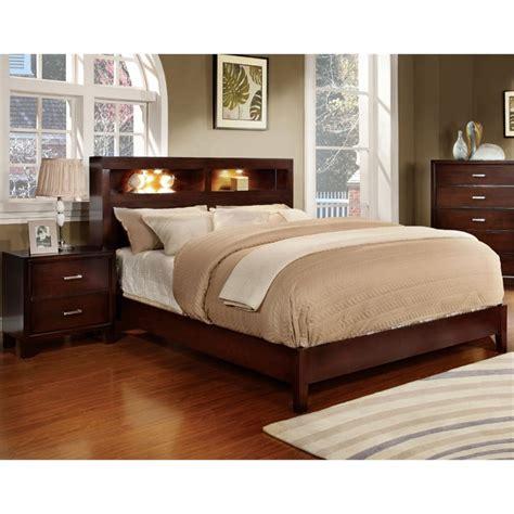 a america bedroom furniture furniture of america jenners 2 piece queen bookcase