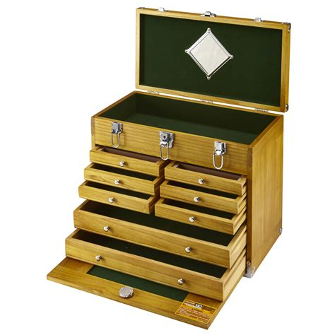 Wooden Tool Chest With Drawers by 8 Drawer Wood Tool Chest