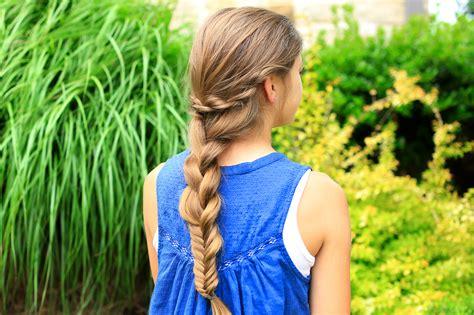 cute girl hairstyles rope braid rope twist combo braid cute girls hairstyles