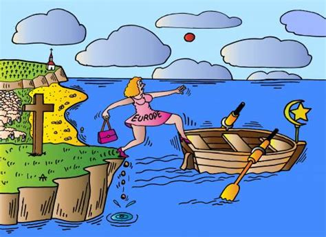 boats europe europe and boat by alexei talimonov religion cartoon
