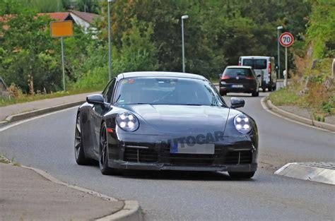 2020 Porsche 911 Gt3 by 2020 Porsche 911 Gt3 Spied In Near Production Bodywork
