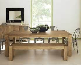 dining room table with bench wooden dining room table with bench diningroomstyle com