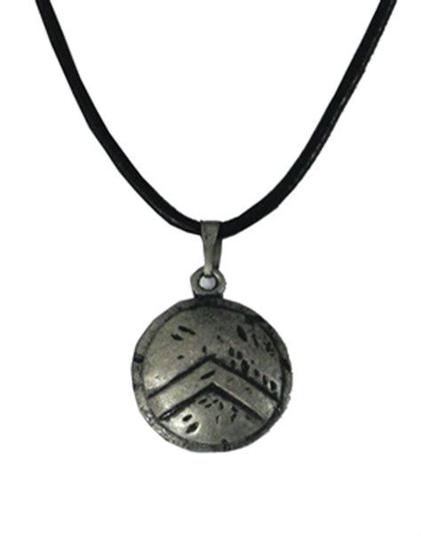 300 spartan warrior shield necklace prop replica the