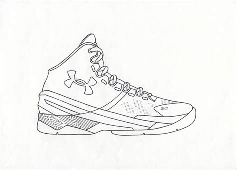Curry 4 Sketches by 54 How To Draw Stephen Curry Steph Curry On