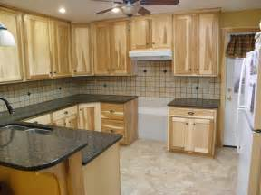 natural hickory kitchen cabinets a hickory quot kitchen gutshalls kitchens
