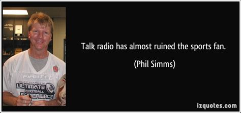 the fan sports radio talk radio quotes quotesgram
