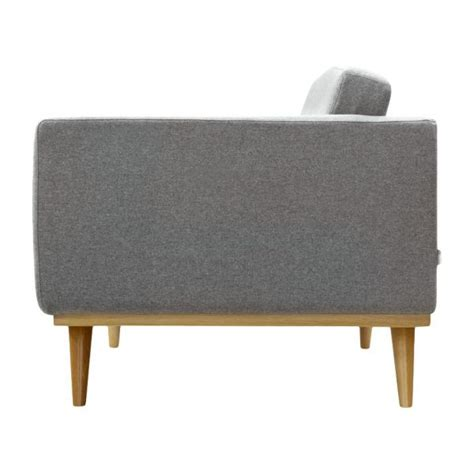 charleen canap 233 s canap 233 3 places gris tissu habitat