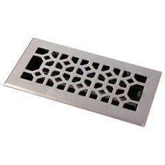 Brushed Nickel Bathroom Vent Cover Hrv Industries 01 612 C 15 Brass Decorative Floor