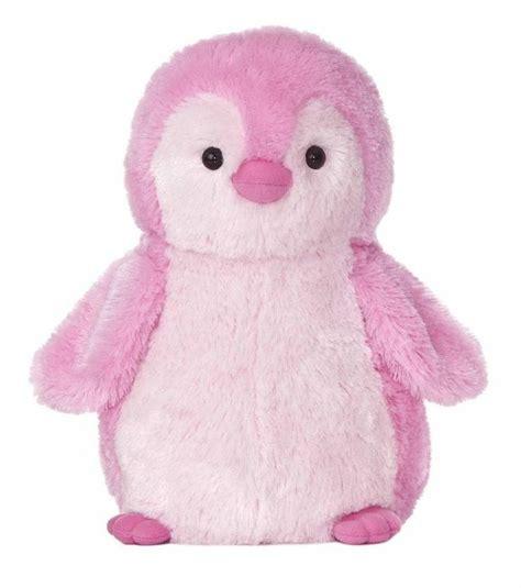 Pink Penguin 12 quot plush pink penguin flopsie stuffed animal