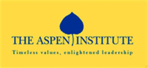 Aspen Institute Mba Study 2008 by Interviews
