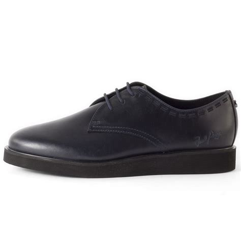 Sepatu Fred Perry E Navy fred perry newburgh mens shoes in navy