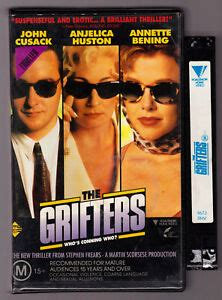 grifters vintage  vhs video tape clamshell case ebay