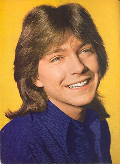 photographs of 1970s shag hair cuts for men carroll bryant david cassidy teen idol