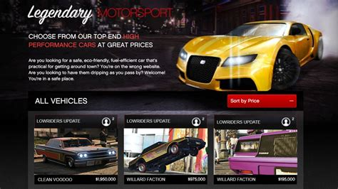 cost of new cars gta 5 new lowriders dlc cars prices vehicle price