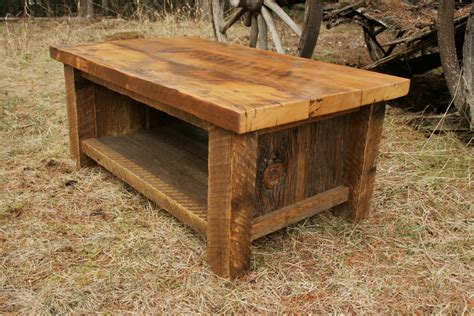 Barn Wood Coffee Table Reclaimed Barnwood Coffee Table