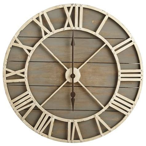 wall clocks canada home decor rustic wall clock gray