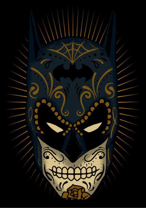 batman gothic tattoo 2 of my favourite things in 1 batman sugar skull on