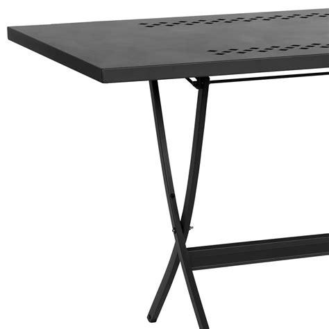 tavolo esterno pieghevole tavolo pieghevole in metallo per esterni hermes 120